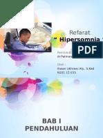 Refarat hipersomnia
