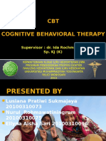 Cognitive Behavioural Therapy TUGAS
