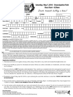 2016 FFPJ - Entry Form
