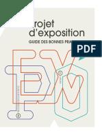 Projet d'exposition - guide des bonnes pratiques