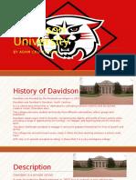 davidson university