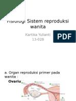 Fisiologi Sistem Reproduksi Wanita