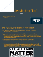 blacklivesmatters too