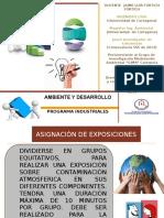 Asignación de Presentaciones Problematicas Ambientales a Nivel Mundial y Colombia - Ambiente y Desarrollo -Jaime Fortich