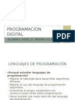 Programacion Digital - Exposiciòn