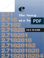e, The Story of a Number - Eli Maor