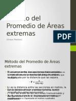 Método Del Promedio de Áreas Extremas