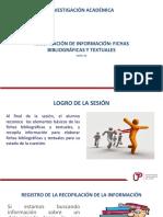 Sesion 12 Elaboracion de Fichas Bibliograficas y Textuales