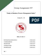 BPM Group18 Assign#07
