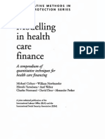 Modelling in Health Care Finance