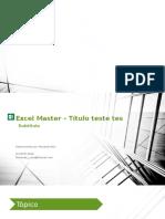 Excel Master - Figuras