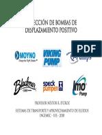 63938033 Manual Seleccion Bombas Desplazamiento Positivo UIS 2011