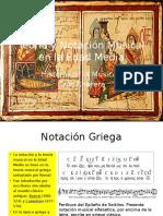 Teoría y Notación Musical en La Edad Media