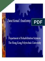 Functional Anatomy -- Clinic