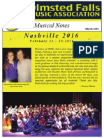 ofma musical notes march 2016