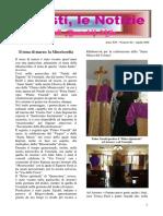 Frati Minori - Notizie da Viesti N. 04/2016