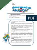 1. GENERO DRAMÁTICO CON LOS PITUFOS 7°( 21 y 22-04)