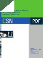 CSN. Medición de Tritio