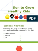 nutrition to grow healthy kids