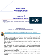 Lecture 3 - Mathematical Model