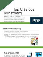 Modelos Clásicos Minztberg