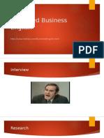 Advanced Business English