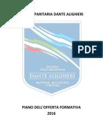PIANO DELL'OFFERTA FORMATIVA 2016