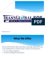 Presentation Transglobal Ship Operation Services