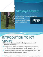 Introduction to ICT NEW Paper One by Nkoyoyo Edward