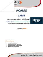 ExamsGrade CAMS PDF Study Kits