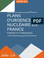 Plans d'urgence nucléaire en France