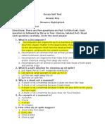 eeu 205 ocean unit test answer key