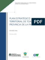 Plan Estrategico Territorial Toay