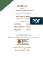 SUN'SKAAR - Final Report on Capstone Project