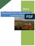 RenewablePowerOpportunities Final
