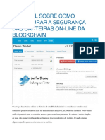 Tutorial Proteger Blockchain