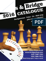 Chess and Bridge 2016 Catalogue