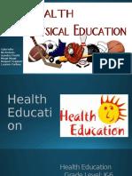 health education lesson plan