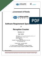 EHealth Reception SRS v 2.2
