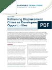 Reframing Displacement Crises 2014