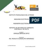 Reporte de Maquinas Electric As