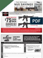 Bushmaster April 2016 Rebate Form