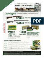 Remington_April Tax Rebate