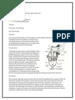 TD005 Diaphragm Type Compressor