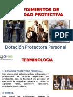 Procedimientos de seguridad protectiva