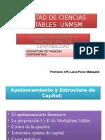 Apalancamiento y Estructura de Capital