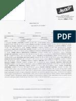 Documento Padrão 1 -  Ação Judicial