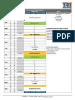 2015 Ecu Academic Calendar