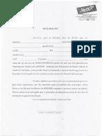 Documento Padrão 2 -  Ação Judicial