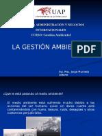 Gestion Ambiental Introduccion Clase1